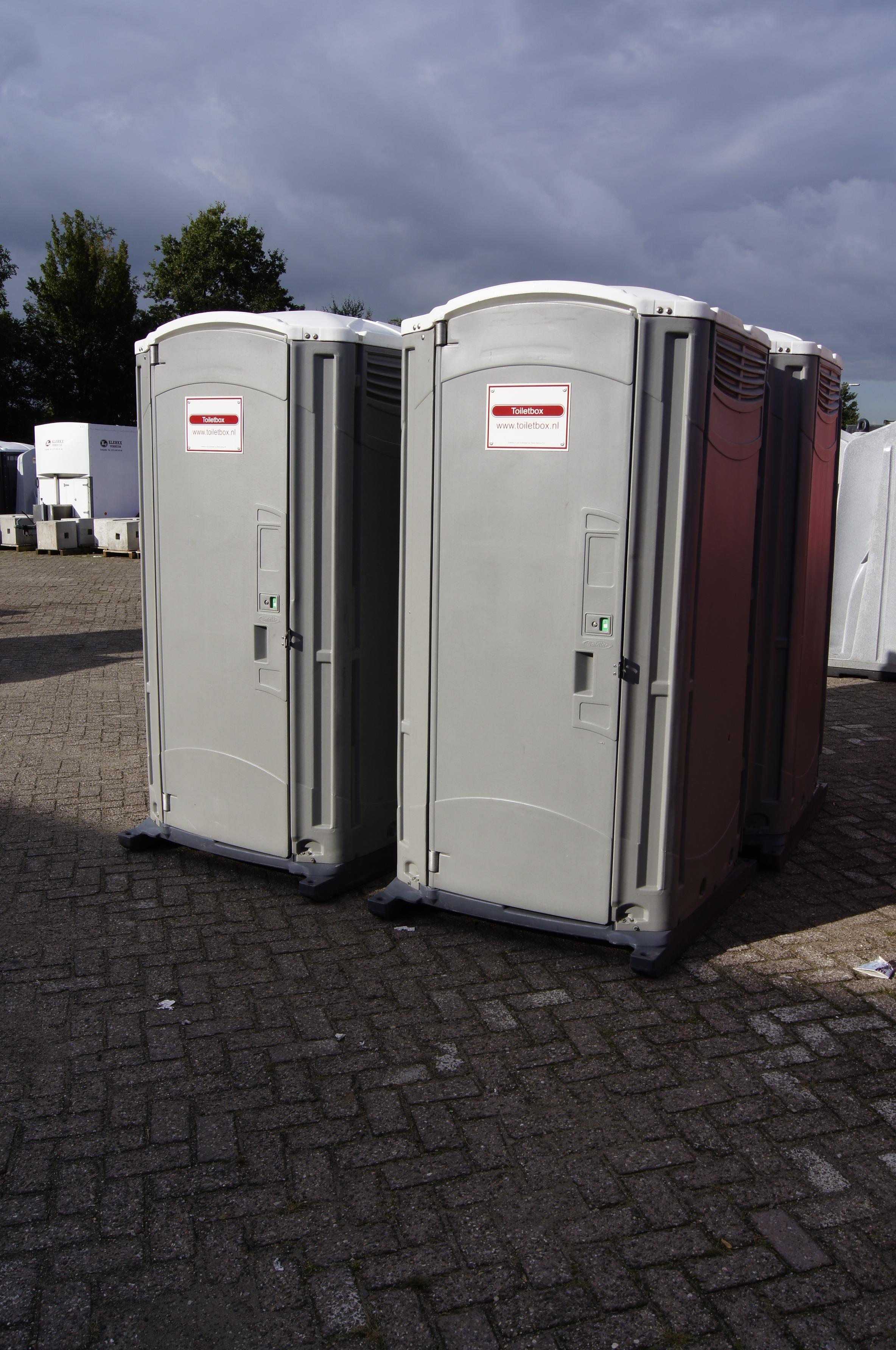 Toiletbox met spoeling
